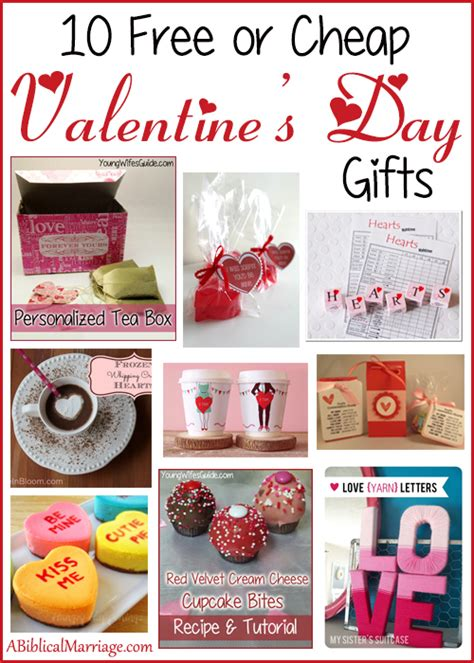 valentines day gifts for friends 10 free or cheap valentine s day gifts young wife s guide