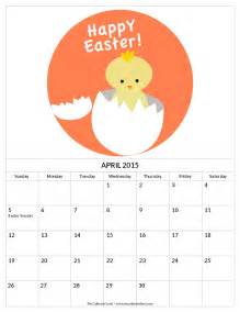 Calendar When Is Easter 2015 9 Best Images Of Free Printable April Calendar Pieces