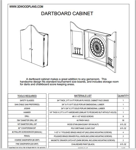 timbo s creations dartboard cabinet