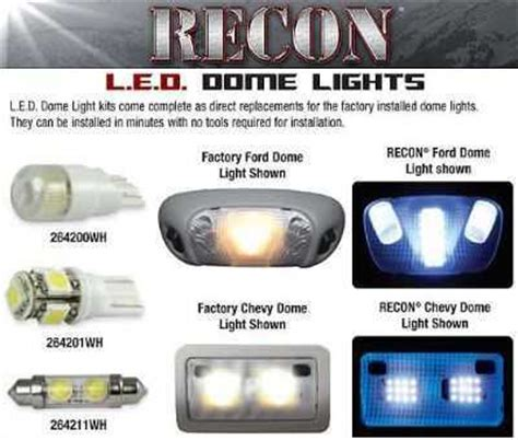dome light jeep wrangler 07 12 | recon led interior dome