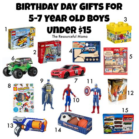 7 year old boys xmas gifts birthday gifts for 5 7 year boys 15 the resourceful