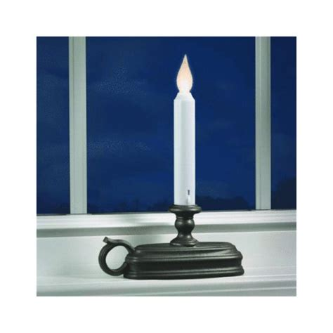 battery operated window candles with light sensor xodus innovations fpc1525a battery operated led window