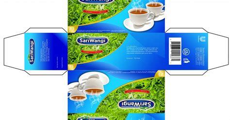 desain kemasan teh sariwangi kemasan baru sariwangi konsep tugas studio desain