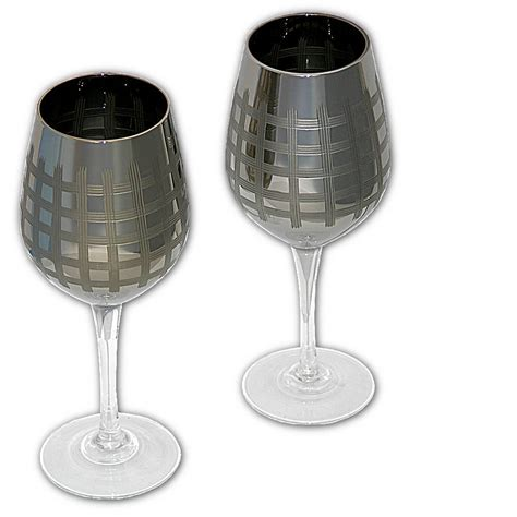 bicchieri da vino rosso prezzi grande specchiata bicchieri da vino argento occhiali set