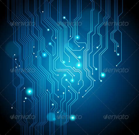 abstract circuit board background  silvertiger