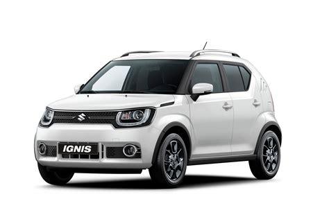 The Suzuki Suzuki Introduces Ignis And Sx4 S Cross In