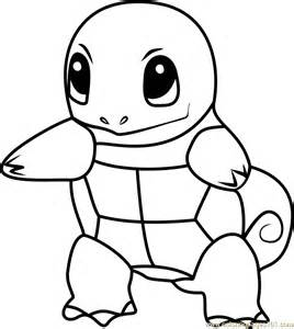 squirtle coloring page squirtle go coloring page free pok 233 mon go