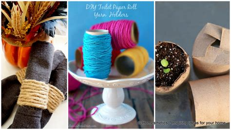 What Can I Make With Toilet Paper Rolls - toilet paper roll crafts to keep your home organized