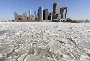 hudson river freezes as manhattan is encased in worst ice - Rock The Boat Ice Nine