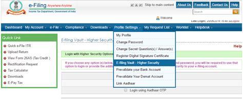 E Filing | e filing vault secure your income tax e filing account