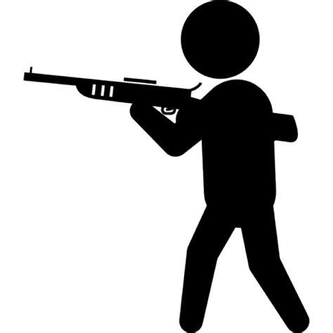 Como Buscar Record Criminal De Una Persona Gratis Criminal Con La Silueta Grande Arma Descargar Iconos Gratis