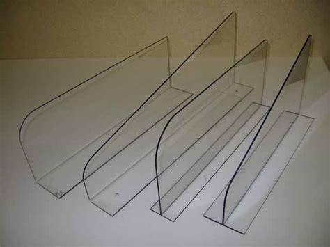 Acrylic Shelf Dividers by Nanex Plastics Inc Custom Fabrication And Thermoforming