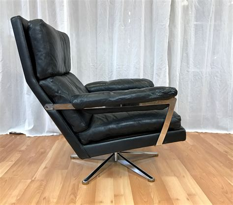 leather lounge chair and ottoman vintage leather lounge chair and ottoman sold