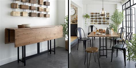 space saving dining room tables 20 space saving dining tables for your tiny apartment