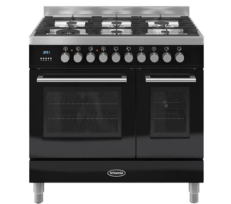 Jual Oven Gas Stainless by Britannia Q Line 90 Dual Fuel Range Cooker Gloss