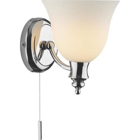 Dar Bathroom Lighting Obo0750 Oboe Bathroom Wall Ligtht Ip44 Wall Lighting