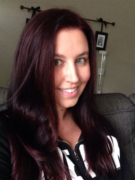 chromasilk over brown hair pravana intense violet brown my style pinterest