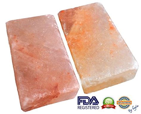 Himalayan Salt Detox Blocks by New Himalayan Salt Block Detox For Foot Set Of Two Size