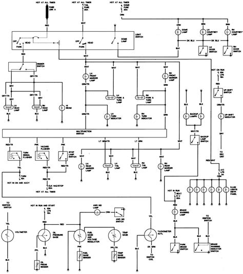 jeep cj7 wiring harness diagram wiring diagram with 1986 jeep cj7 chassis 2 of 2 large freeautomechanic