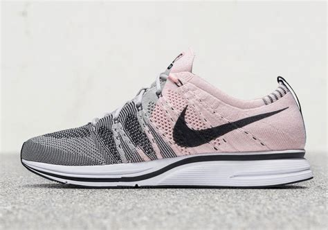 sneaker news release dates nike flyknit trainer pale grey and sunset tint release