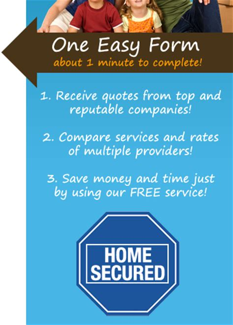 home security systems price quotes free home alarm system
