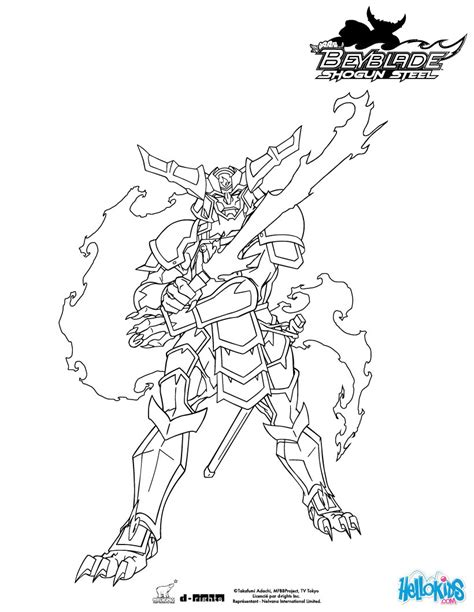 samurai ifrit coloring pages hellokids com
