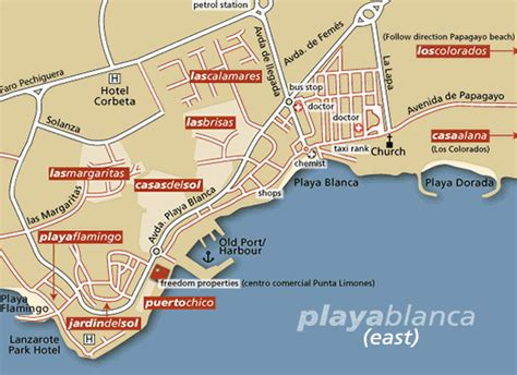 flamingo resort map lanzarote central yet peaceful homes in playa blanca lanzarote