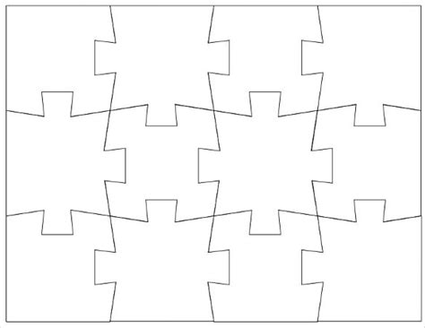 printable puzzle template puzzle template blank puzzle template free premium