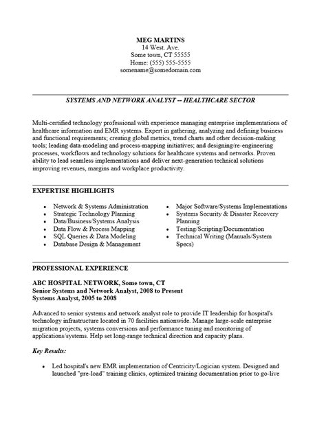Senior System Engineer Cover Letter by Senior System Engineer Resume Exle Profesional Resume Template