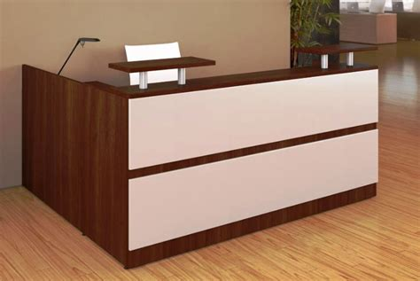Small Reception Desks Modern Minimalist Reception Desk For Small Space Finding Desk