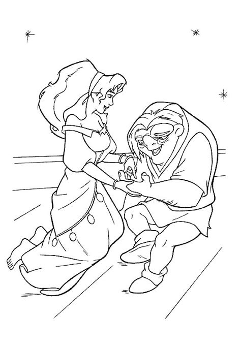 The Hunchback Of Notre Dame Coloring Pages the hunchback of the notre dame coloring pages