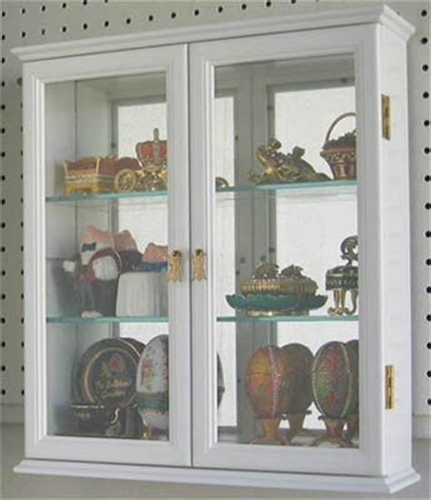 Wall Mounted Curio Cabinet Wall Display Case With Glass Unfinished Wall Cabinets With Glass Doors