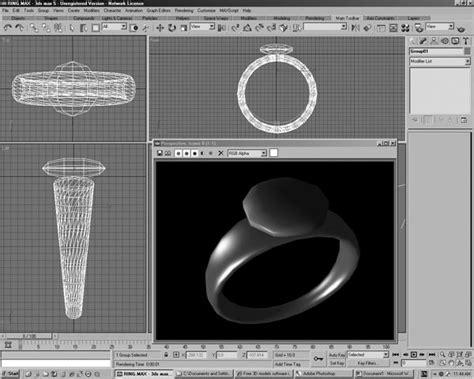 Wedding Ring Design Software ring software design 3ds 3d studio