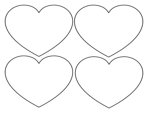 pics for gt heart cut out template