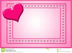 Valentines Card Template by Card Template Stock Photography Image 1706652