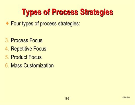 process layout strategy c5 process layout