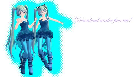 MMD TDA Cat Dress Miku (DL) by Solastraza on DeviantArt