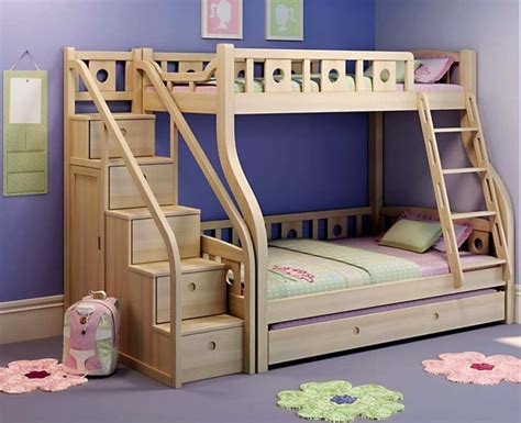 diy loft bed plans with stairs and desk wonderful bunk beds stairs 8