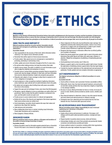 code of ethics policy template ethics statement birmingham
