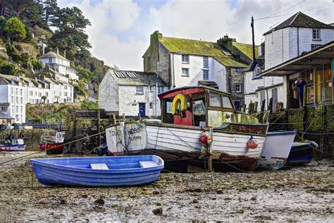 boat fishing marks poole harbour harbour boats polperro cornwall john lunt flickr