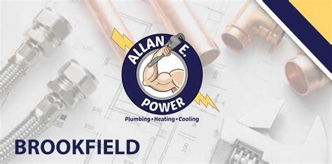 plumbing services brookfield il allan e power plumbing