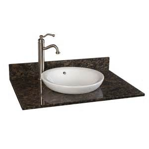 31 quot x 22 quot granite vanity top for semi recessed sink bathroom