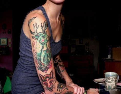 full body deer tattoo deer tattoos tattoo designs tattoo pictures page 2