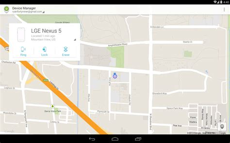 Android Device Manager android device manager 3ee3