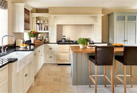 Warwickshire Kitchen Design by An Open Plan Kitchen With A Pantry Period Living