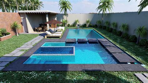 Software Diseno De Casas visualizaciones de piscina para vivienda ars render