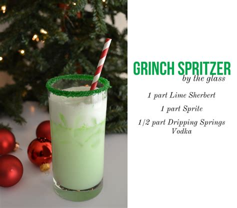 christmas cocktail recipes the grinch spritzer pictures photos and images for
