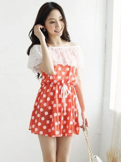 boat neck girl cute girls boat neck lace combined mini dress