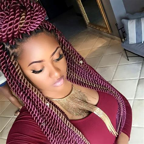 Rope Twists Hairstyles by Rope Twists Braidsbyguvia Black Hair Information Community
