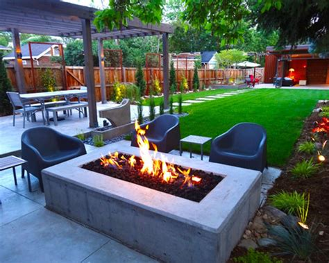contemporary backyard landscaping ideas modern backyard ideas without grass